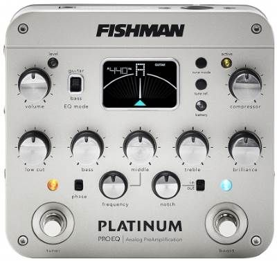 Fishman Platinum Pro EQ for Acoustic Guitar