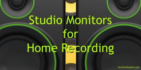 Recommended studio monitors for home recording