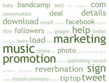 music promotion sites
