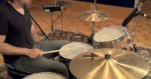 Recording drums with an Audio Interface